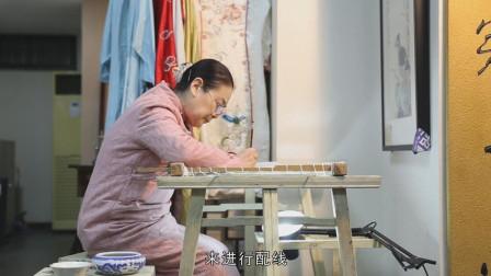 她用传承800年的汴绣手艺, 复原传世名画, 不输原作, 美爆了!
