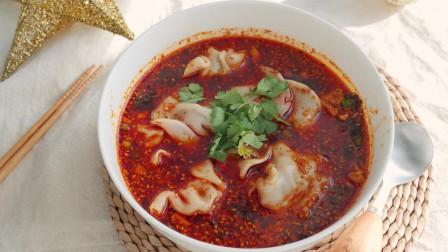 酸汤饺子, 简单方便, 好吃过瘾, 吃一口就爱上的家常美味!