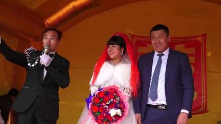 一姑娘嫁甘肃农村黄土高坡, 新郎家窑洞蛮漂亮的