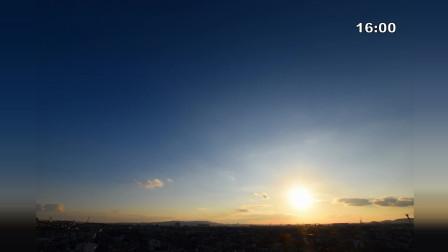 冬至节气太阳轨迹, 一年中白昼最短的一天