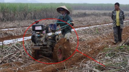 一款小型微耕机, 女人都可以操作的机器, 大家觉得怎么样?