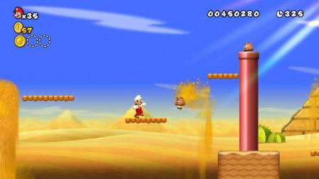 新超级马里奥兄弟Wii 10期 第2大陆 2-1