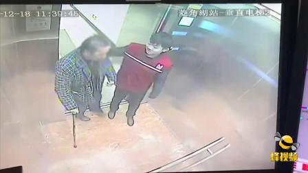 湖北武汉 7旬老人独自看病 幸有陌生人护送