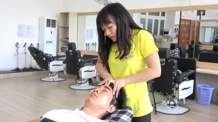 越南岘港脸部按摩, 手法专业, 让你充分放松脸部神经
