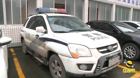湖北荆州 民警抓贼被猎刀划伤 鲜血染身仍忍痛擒凶
