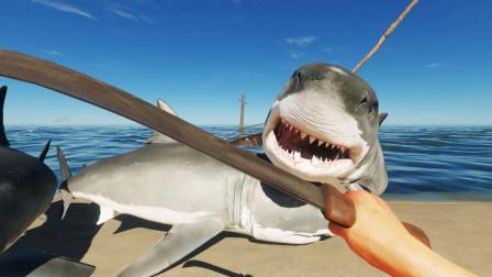 我下海探索沉船,骷髅岛大战大白鲨