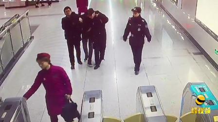 湖北武汉: 内蒙古壮汉醉倒在地铁 好心人纷纷伸出援手