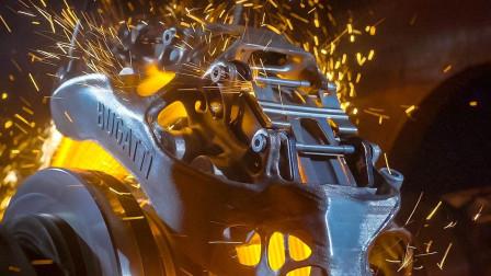 380km/h时速瞬间急刹, 就知道这个3D打印卡钳不简单!