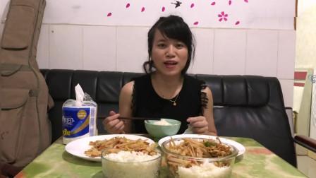 湖南打工妹在深圳: 下班再晚自己做饭, 11块炒两个硬菜, 太幸福了