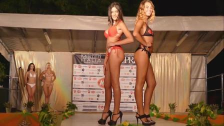 2019哥伦比亚时装周Prix Sarego比基尼泳装秀, 这组模特才是T台最耀眼的星星!