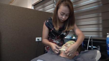 越南理发店, 专业脸部spa, 十分舒适