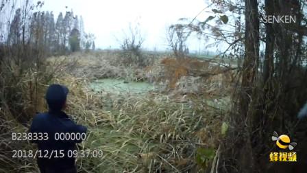 湖北仙桃 民警寒冬跳入淤泥沟 只为擒获逃窜窃贼