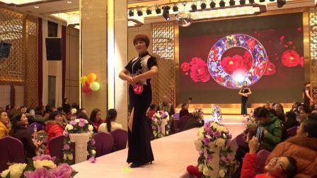 桂林东方旗袍永福分会T台旗袍展示
