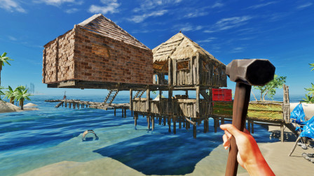 我改造海湾别墅,加盖悬空卧室