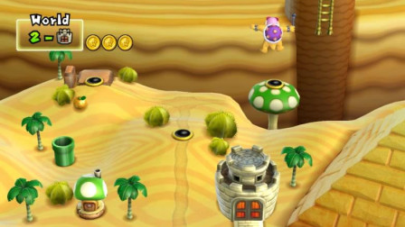 新超级马里奥兄弟Wii 13期 2-小城堡
