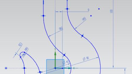 NX12.0   第十四课   草绘举例四