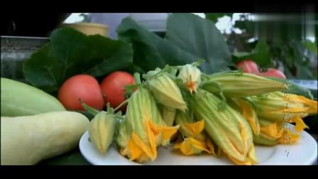 舌尖上的中国: 倭瓜的花也能这样吃, 简直是人间美味!