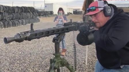 MG3通用机枪的射速, 没几把枪比得上吧