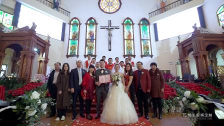 TS婚礼视频定制: 林惠鹏&古梦琦 | 婚礼早拍晚播