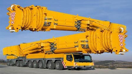 大型利勃海尔起重机果然厉害, 不愧是机械制造业的霸王机!