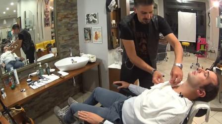 小伙专程体验spa, 脸部按摩, 有效抗疲劳