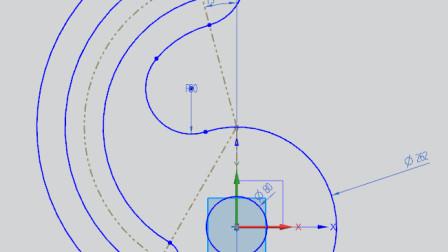 NX12.0  第十八课    草绘举例八