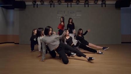 真心绝对练习室里面的小姐姐们跳舞最性感, 韩国女团火辣热舞MV