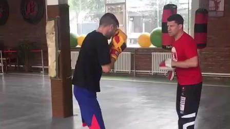 职业拳击选手的日常训练
