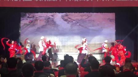 西安安塞腰鼓表演 中国邮政开门红开场舞蹈 鑫舞曹老师