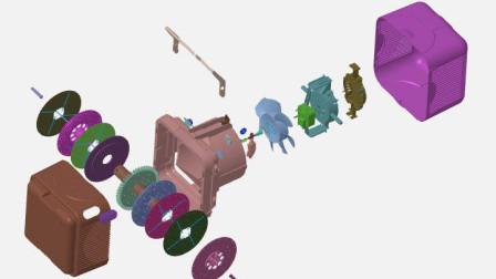 冰盒子IV随机着色、自动中心轴和智能三视功能