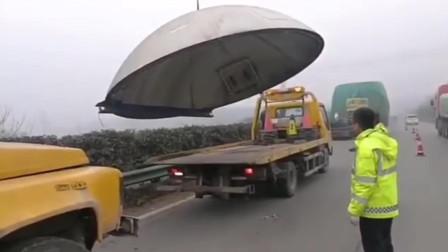"""湖北黄石 喂, 朋友! 你重达一吨的""""锅""""掉高速路上了"""