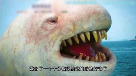 一个酷似蝌蚪不明生物, 几天时间就变成了危害人间的大怪物