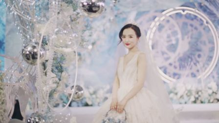 [你的名字]蓝天&白雪婚礼电影