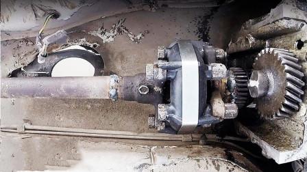 将汽车支柱轴焊接到电机会发生什么 小伙胆真大