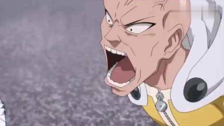 一拳超人: 一口就咬断了音速索尼克的剑, 真的不能惹怒埼玉老师的
