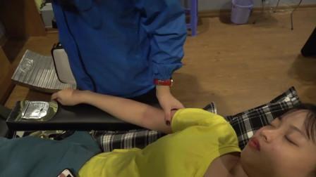 传统越南手臂拉伸, 放松手臂肌肉, 缓解疲劳