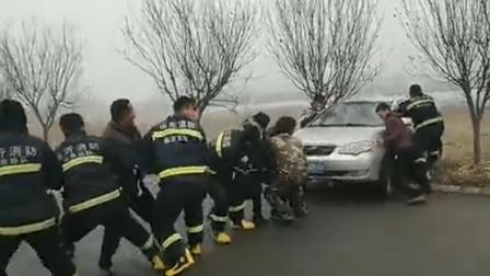 山东一司机突遇车祸! 然而之后发生的事却让人意想不到