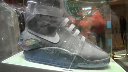 湖北武汉 一双耐克鞋售价80万 如此昂贵的原因竟然是它的鞋带!