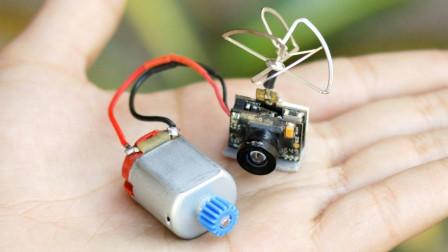 超酷的DIY创意 之 遥控视频小车