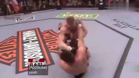UFC 太凶残了, 布洛克不到一分钟被他放倒在地, 他是谁