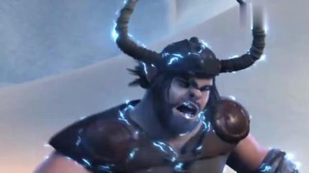 幻雷龙长得太凶狠了, 但是小嗝还是驯服了它, 装逼从来都没用