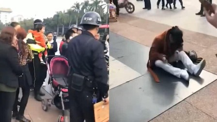 广东东莞: 胆大包天! 女子竟在闹市区抢小孩! 保安: 疑似精神异常