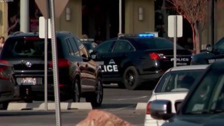 美国商场发生枪击案 数声枪响后顾客拼命奔逃