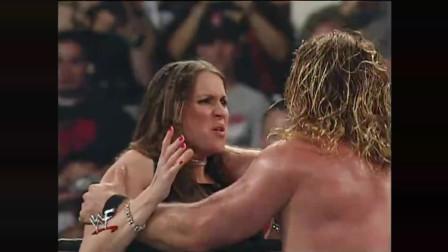 WWE千金大小姐耍泼不成遭强吻! HHH: 劳资又绿了?