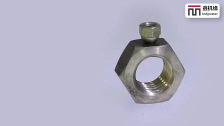 牛人用俩螺母制作一枚钻戒, 创意手艺俱佳, 佩服这动手能力