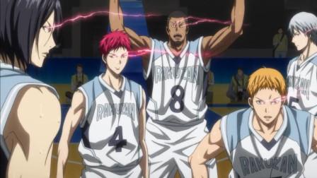 黑子的篮球: 赤司天帝之眼可以五人联动ZONE, 全场沸腾