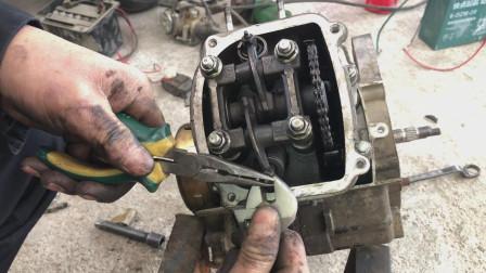 摩托车气门调到什么状态最好? 车子不好启动, 一般都是这个问题