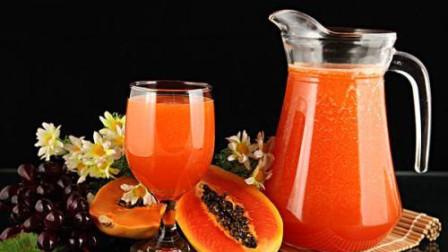 木瓜橙汁不仅好喝瘦身, 还能做面膜! 广大女性同胞们快学起来!