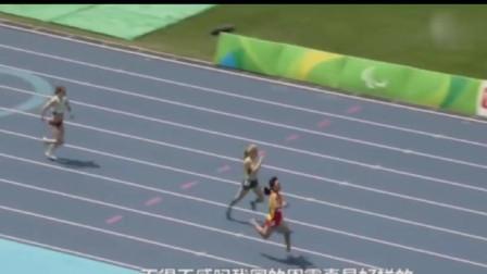 处在最难跑道! 被对手反超后, 中国女飞人爆发奋力逆转夺冠破纪录