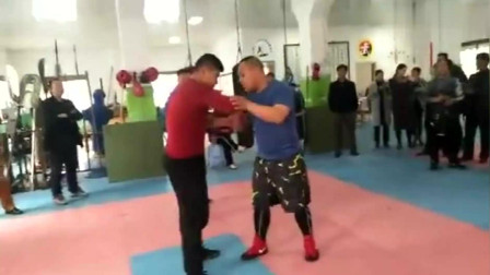 太极拳高手对阵巴西揉术高手, 不得不说太极高手还是有的